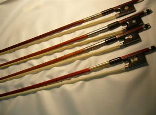 バイオリン・ビオラ・チェロの弓